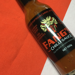 Fang's Chilli Sauce 150ml stylised ChilliBOM Hot Sauce Club Australia Chilli Subscription Gifts SHU Scoville