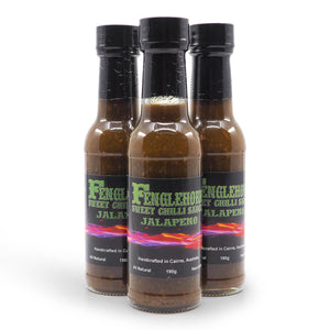 Fenglehorn Jalapeño Sweet Chilli Sauce 190g group Jalapeno ChilliBOM Hot Sauce Club Australia Chilli Subscription Gifts SHU Scoville