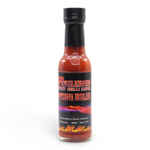 Fenglehorn Supernova Uberlava Sweet Chilli Sauce 150ml ChilliBOM Hot Sauce Club Australia Chilli Subscription Gifts SHU Scoville