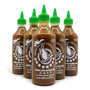 Flying Goose Green Chilli Sriracha Hot Chilli Sauce 455ml ChilliBOM Hot Sauce Store Hot Sauce Club Australia Chilli Sauce Subscription Club Gifts SHU Scoville group2