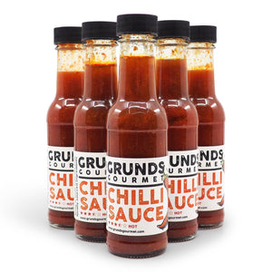 Grunds Gourmet Chilli Sauce 150ml ChilliBOM group2 Hot Sauce Club Australia Chilli Subscription Gifts
