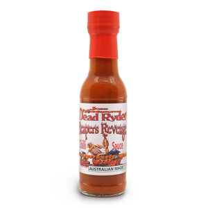 Jose Montezuma Dead Ryder's Reapers Revenge 150ml ChilliBOM Hot Sauce Store Hot Sauce Club Australia Chilli Subscription Club Gifts SHU Scoville
