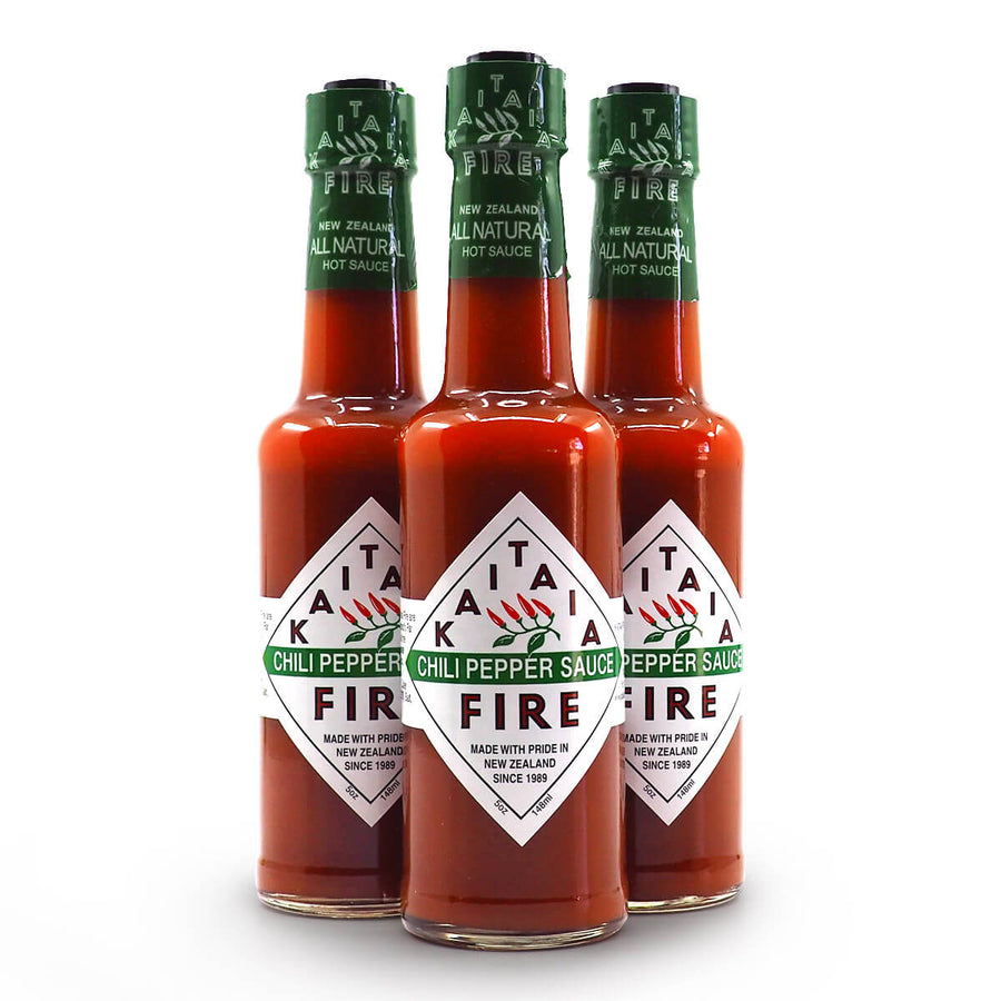 Kaitaia Fire Chilli Pepper Sauce ChilliBOM group Hot Sauce Club Australia Chilli Subscription Gifts SHU Scoville