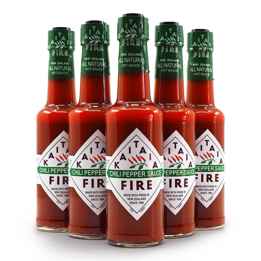 Kaitaia Fire Chilli Pepper Sauce group 2 ChilliBOM Hot Sauce Club Australia Chilli Subscription Gifts SHU Scoville