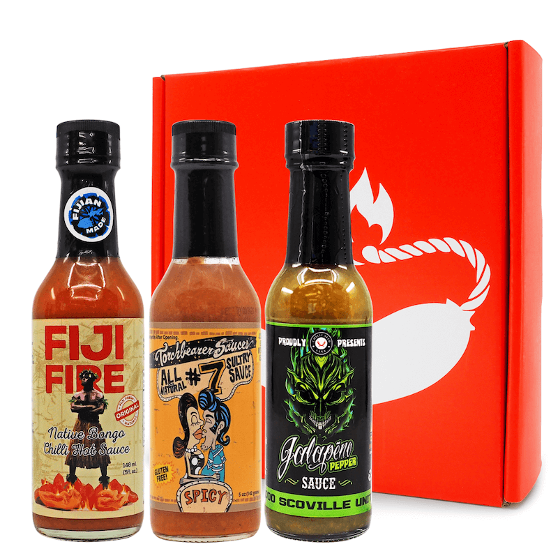 Mild & Breezy Gift Pack ChilliBOM Hot Sauce Club Australia Chilli Subscription Gifts SHU Scoville 037