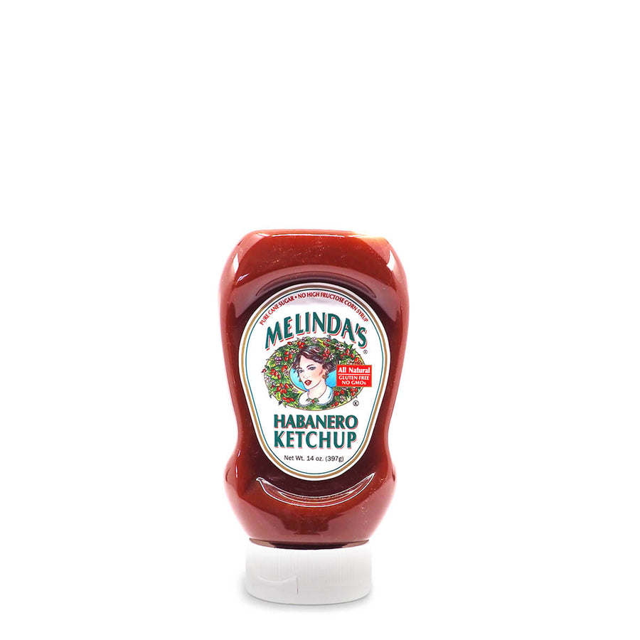 Melinda's Habanero Ketchup 397g ChilliBOM Hot Sauce Club Australia Chilli Subscription Gifts SHU Scoville