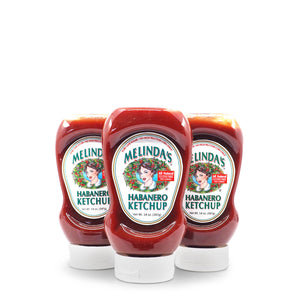 Melinda's Habanero Ketchup 397g ChilliBOM Hot Sauce Club Australia Chilli Subscription Gifts SHU Scoville group