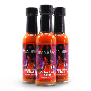 Mocojambe Ocho Rios X Hot Sauce 150ml ChilliBOM Group Hot Sauce Club Australia Chilli Subscription Gifts SHU Scoville