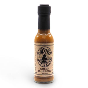Mofo Hot Sauce Green Jalapeño 150ml jalapeno ChilliBOM Hot Sauce Club Australia Chilli Subscription Gifts SHU Scoville