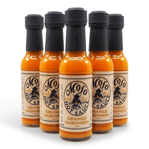 Mofo Hot Sauce Orange Habanero 150ml group2 ChilliBOM Hot Sauce Club Australia Chilli Subscription Gifts SHU Scoville