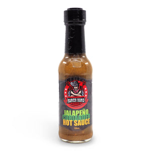 Ranch Hand Foods Jalapeño Coriander Hot Sauce 150ml ChilliBOM Hot Sauce Club Australia Chilli Subscription Gifts