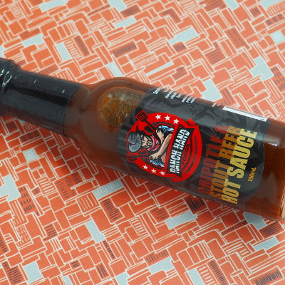 Ranch Hand Foods Chipotle & Stout Hot Sauce 150ml ChilliBOM Hot Sauce Club Australia Chilli Subscription Gifts