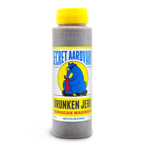 Secret Aardvark Drunker Jerk Jamaican Marinade 236ml ChilliBOM Hot Sauce  Store Hot Sauce Club Australia Chilli Subscription Club Gifts SHU Scoville USA