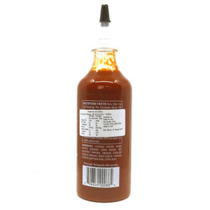 Sky Valley Sriracha Sauce back 524g ChilliBOM Hot Sauce Club Australia Chilli Subscription Gifts SHU Scoville