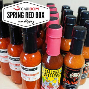 ChilliBOM 12 Month Hot Sauce Gift Subscription