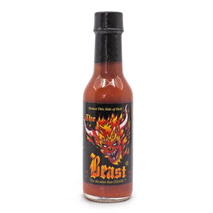 The Beast Hot Sauce 148ml ChilliBOM Hot Sauce  Store Hot Sauce Club Australia Chilli Subscription Club Gifts SHU Scoville