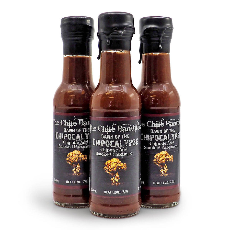The Chile Banditos Dawn of the Chipocalypse 150ml ChilliBOM Hot Sauce Store Hot Sauce Club Australia Chilli Sauce Subscription Club Gifts SHU Scoville group
