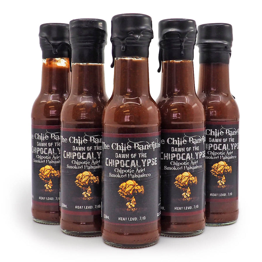 The Chile Banditos Dawn of the Chipocalypse 150ml ChilliBOM Hot Sauce Store Hot Sauce Club Australia Chilli Sauce Subscription Club Gifts SHU Scoville group2