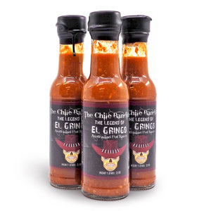 The Chile Banditos The Legend of El Gringo 150ml ChilliBOM Hot Sauce Store Hot Sauce Club Australia Chilli Sauce Subscription Club Gifts SHU Scoville group