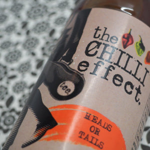 The Chilli Effect Heads or Tails BBQ Sauce 250ml stylised ChilliBOM Hot Sauce Club Australia Chilli Subscription Gifts