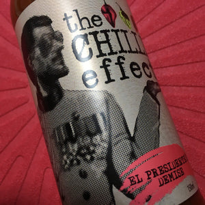 The Chilli Effect El Presidente's Demise Hot Sauce 150ml ChilliBOM Hot Sauce Club Australia Chilli Subscription Gifts