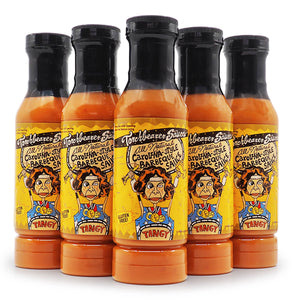 Torchbearer Carolina-Style Barbeque Sauce 340g ChilliBOM Hot Sauce  Store Hot Sauce Club Australia Chilli Subscription Club Gifts SHU Scoville barbecue bbq group2