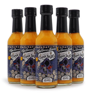 Torchbearer Garlic Reaper Hot Sauce 142g ChilliBOM Hot Sauce Store Hot Sauce Club Australia Chilli Subscription Club Gifts SHU Scoville hot ones group2