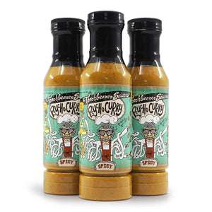 Torchbearer Sauces Psycho Curry 340g ChilliBOM Hot Sauce  Store Hot Sauce Club Australia Chilli Subscription Club Gifts SHU Scoville group