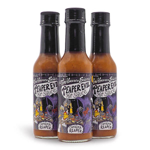 Torchbearer Reaper Evil Hot Sauce 142g ChilliBOM Hot Sauce Store Hot Sauce Club Australia Chilli Subscription Club Gifts SHU Scoville group