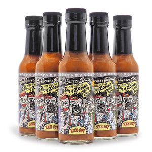 Torchbearer Son of Zombie Hot Sauce 142g ChilliBOM Hot Sauce Store Hot Sauce Club Australia Chilli Subscription Club Gifts SHU Scoville hot ones group2