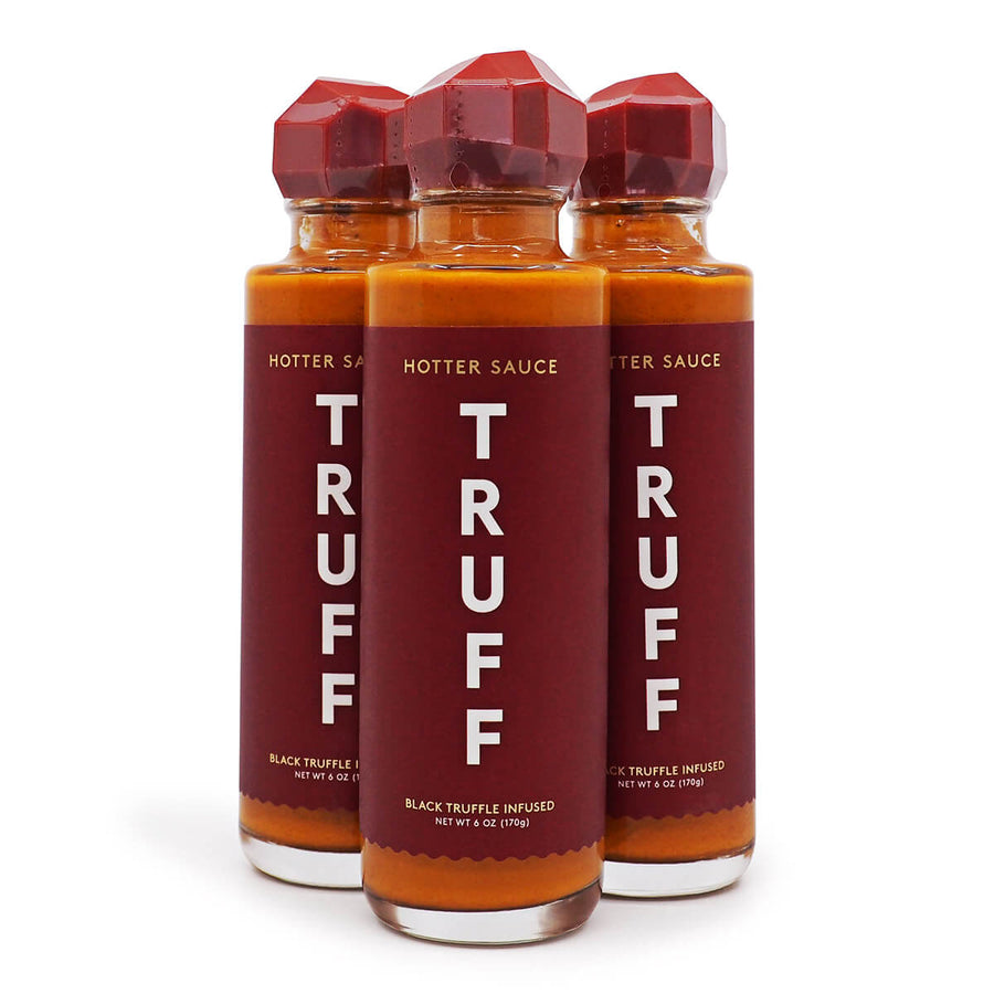 Truff Hotter Sauce 170g ChilliBOM Hot Sauce Store Hot Sauce Club Australia Chilli Sauce Subscription Club Gifts SHU Scoville group