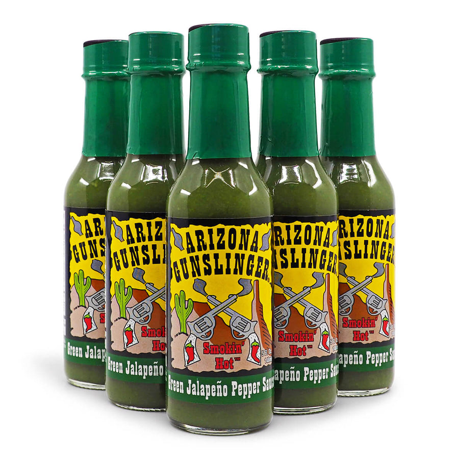 Arizona Gunslinger Green Jalapeño Pepper Sauce 148ml