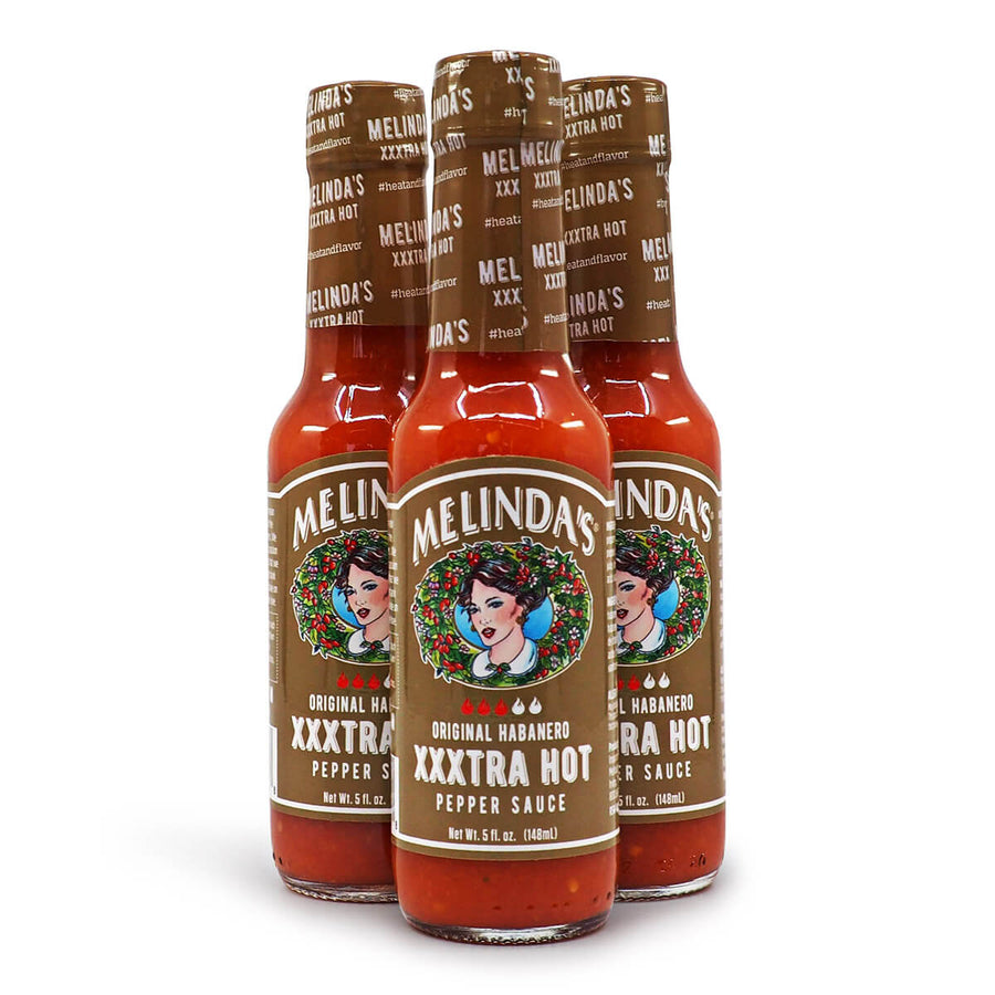 Melinda's Original Habanero XXXtra Hot Pepper Sauce 148ml ChilliBOM Hot Sauce Store Hot Sauce Club Australia Chilli Sauce Subscription Club Gifts SHU Scoville group2