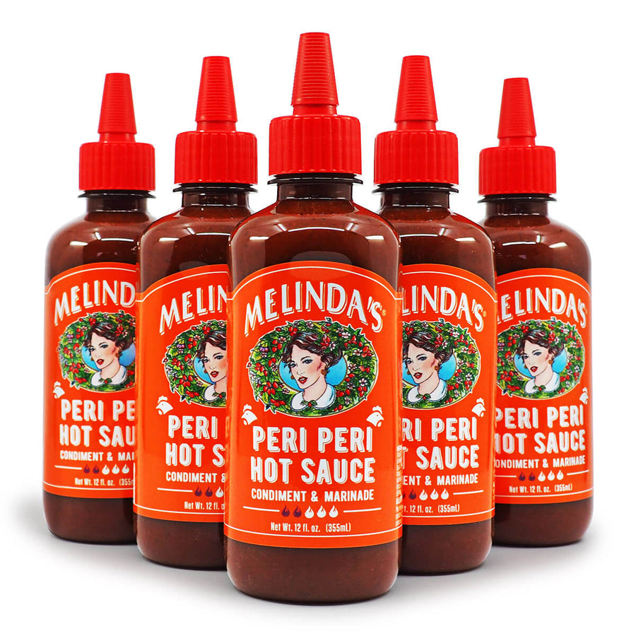 Melinda's Peri Peri Hot Sauce 355ml ChilliBOM Hot Sauce Store Hot Sauce Club Australia Chilli Sauce Subscription Club Gifts SHU Scoville group2