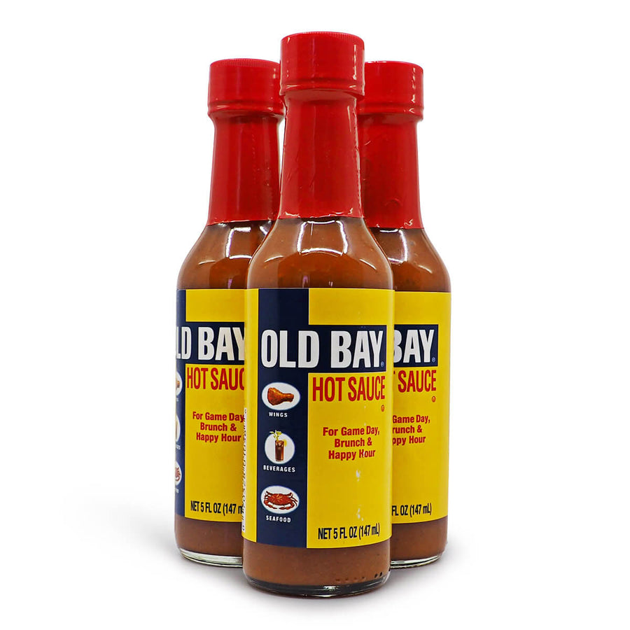 Old Bay Hot Sauce 150ml ChilliBOM Hot Sauce Store Hot Sauce Club Australia Chilli Sauce Subscription Club Gifts SHU Scoville mats hot shop