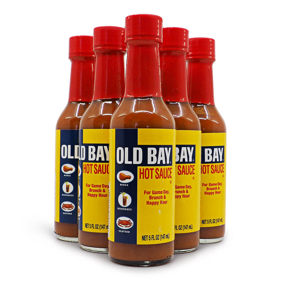 Old Bay Hot Sauce 150ml ChilliBOM Hot Sauce Store Hot Sauce Club Australia Chilli Sauce Subscription Club Gifts SHU Scoville saucemania