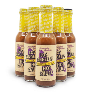 Small Axe Peppers The Los Angeles Habanero Mango Hot Sauce 150ml ChilliBOM Hot Sauce Store Hot Sauce Club Australia Chilli Sauce Subscription Club Gifts SHU Scoville sauce mania