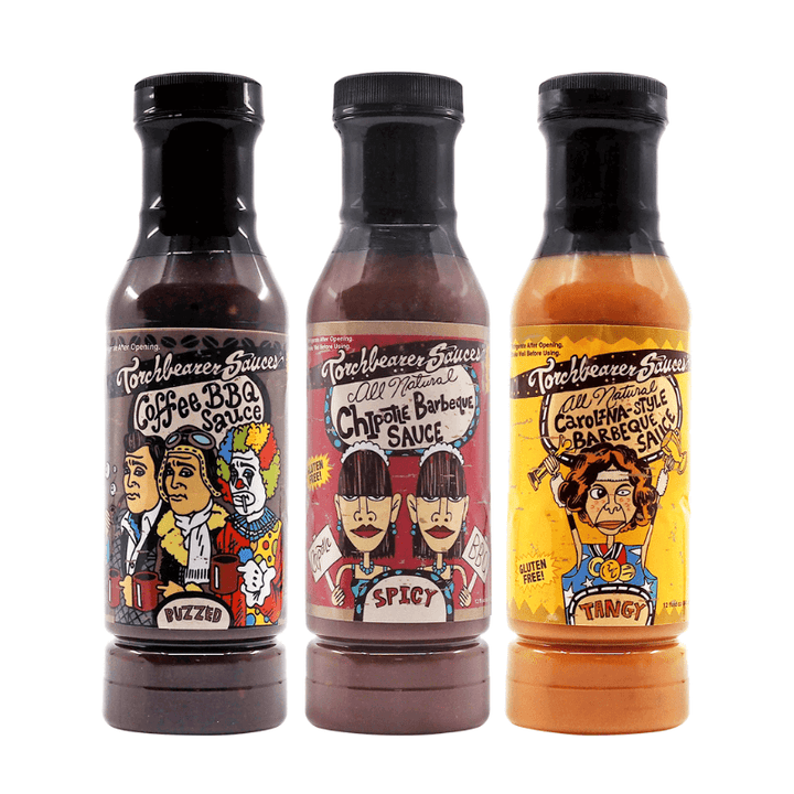 Torchbearer Barbecue Bundle Buy Hot Ones ChilliBOM Hot Sauce store Australia Bundle Buy hot sauce chilli sauce