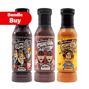 Torchbearer Barbecue Bundle Buy Hot Ones ChilliBOM Hot Sauce store Australia Bundle Buy hot sauce chilli sauce lozenge
