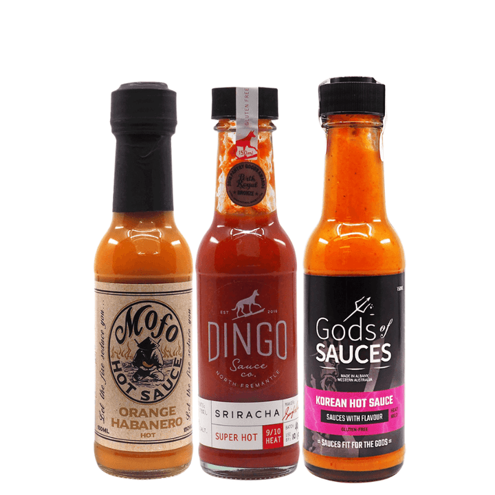 Western Australia Global Flavours Bundle available at ChilliBOM hot sauce store Australia