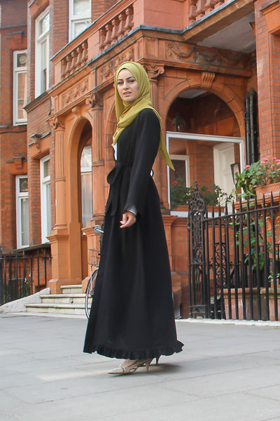 Best Modest Outfits Black Long Cardigan