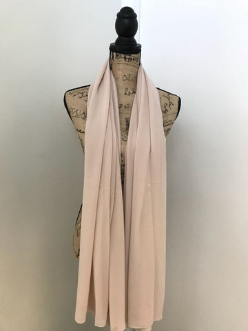 MAXI CHIFFON HIJAB LIGHT BEIGE