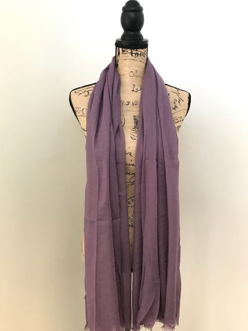SILK COTTON HIJAB LILAC