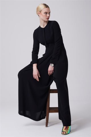 e77d1c066e78 BUSHRA JUMPSUIT BLACK. £75.00. QUICK VIEW · FERADJE London Bushra Jumpsuit  blush UK