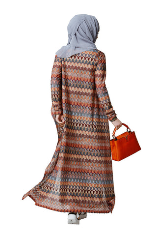 SARAH DRESS - CARDIGAN 2 PIECE - Designer Abayas FERADJE