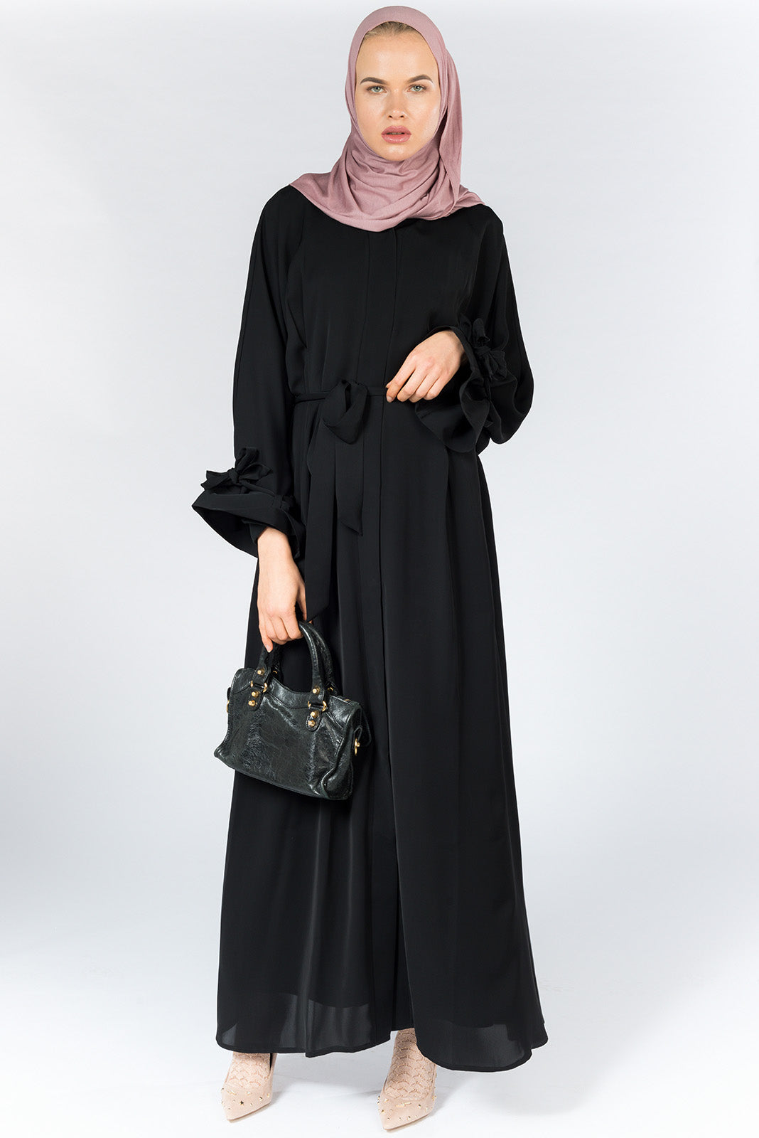 FERADJE London Burberry abaya black UK
