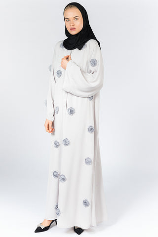 FERADJE London Flower Abaya UK