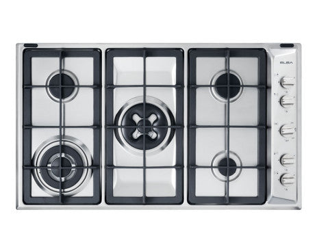 Elba 90cm 5 Gas Burners (1 Dual, 1 Triple Ring)