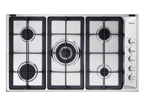 Elba 90cm 5 Gas Burners (1 Triple Ring)