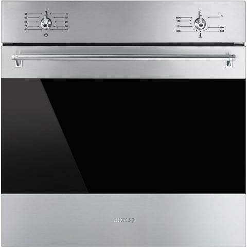 SMEG 60cm Classic Stainless Steel Full Gas Oven